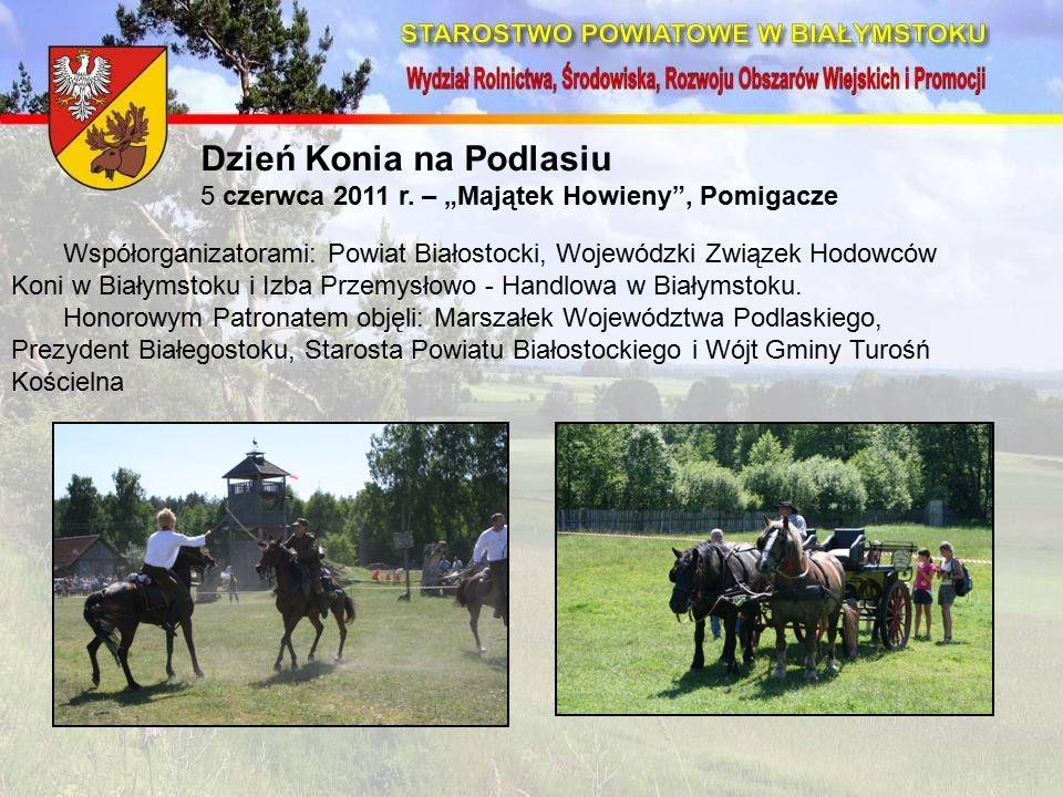 Dzień Konia na Podlasiu 5 czerwca 2011 r.