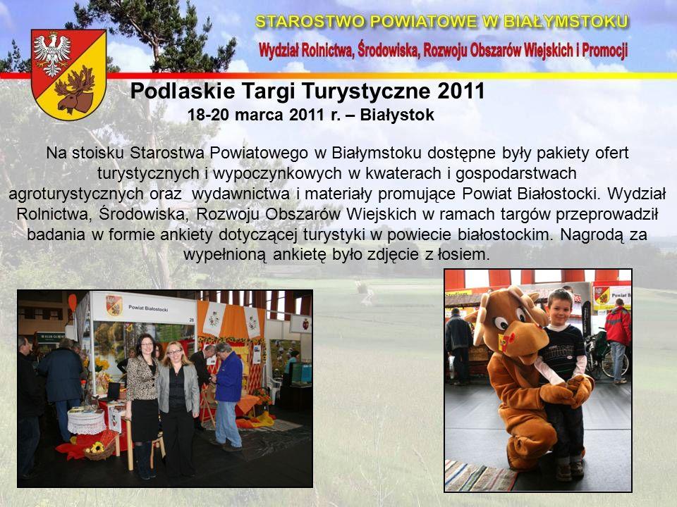 Podlaskie Targi Turystyczne 2011 18-20 marca 2011 r.