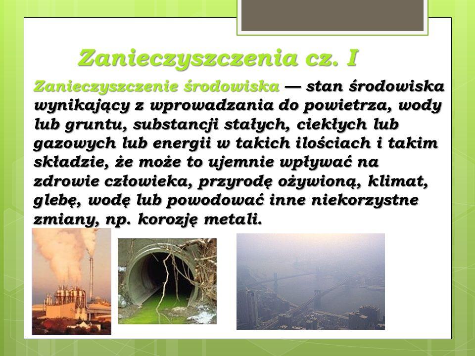 Zanieczyszczenia cz.