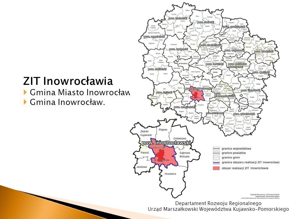 ZIT Inowrocławia  Gmina Miasto Inowrocław,  Gmina Inowrocław.