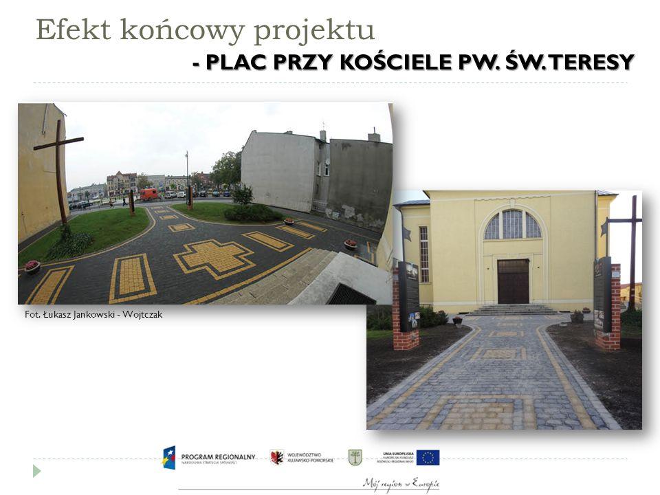 Efekt końcowy projektu Fot. Łukasz Jankowski - Wojtczak - PLAC PRZY KOŚCIELE PW.