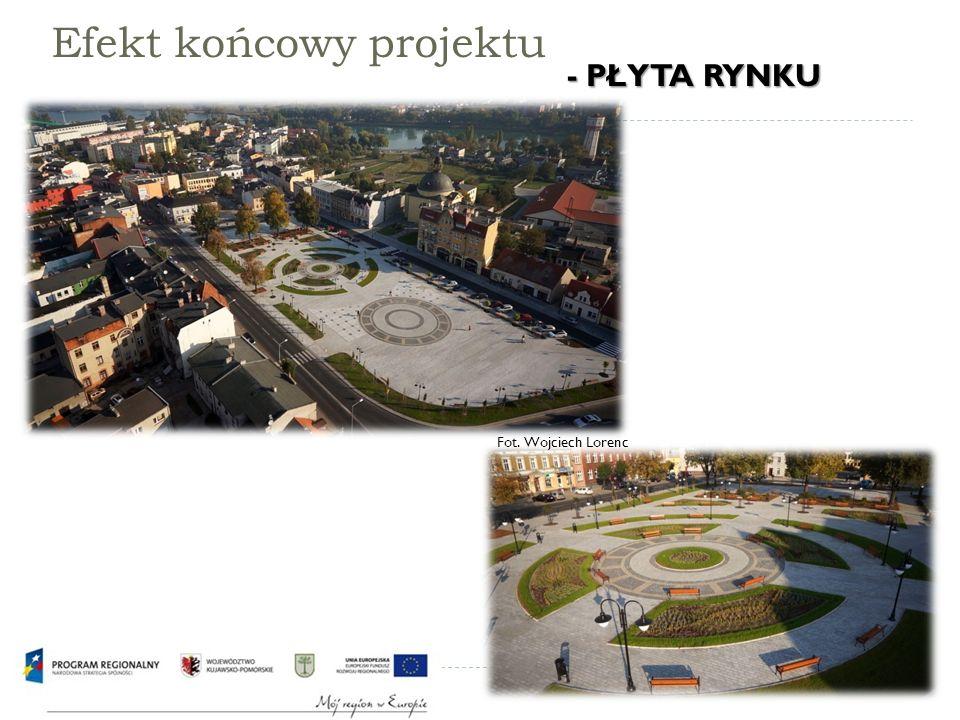 Efekt końcowy projektu Fot. Wojciech Lorenc - PŁYTA RYNKU - PŁYTA RYNKU