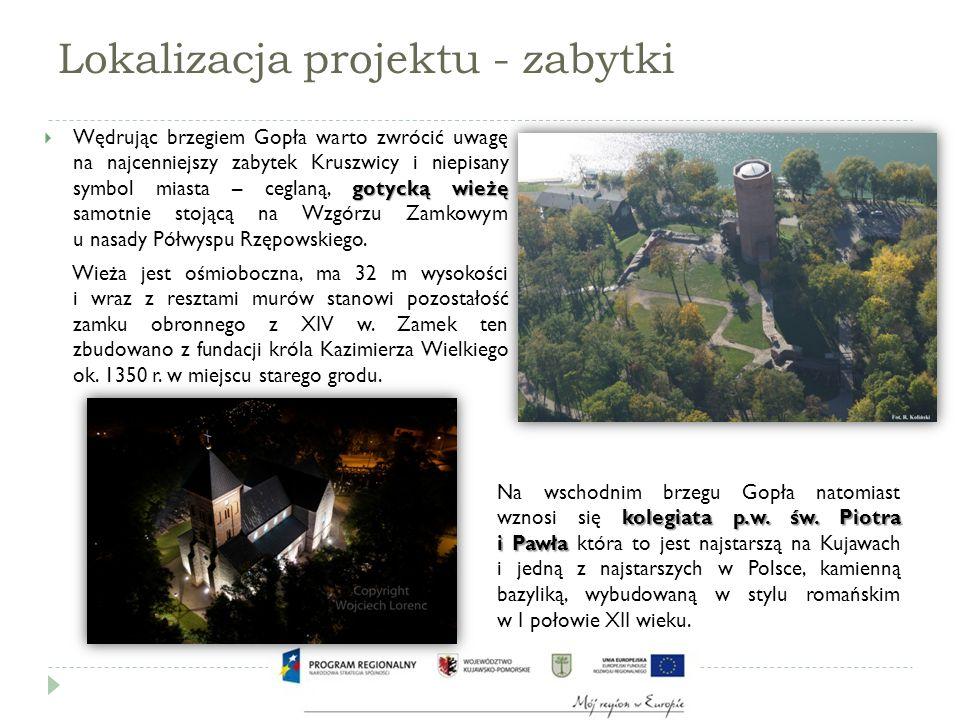 Lokalizacja projektu – stara część miasta Zachodni brzeg jeziora również budzi zainteresowanie przejezdnych.