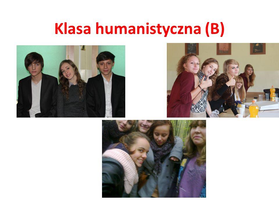 Klasa humanistyczna (B)