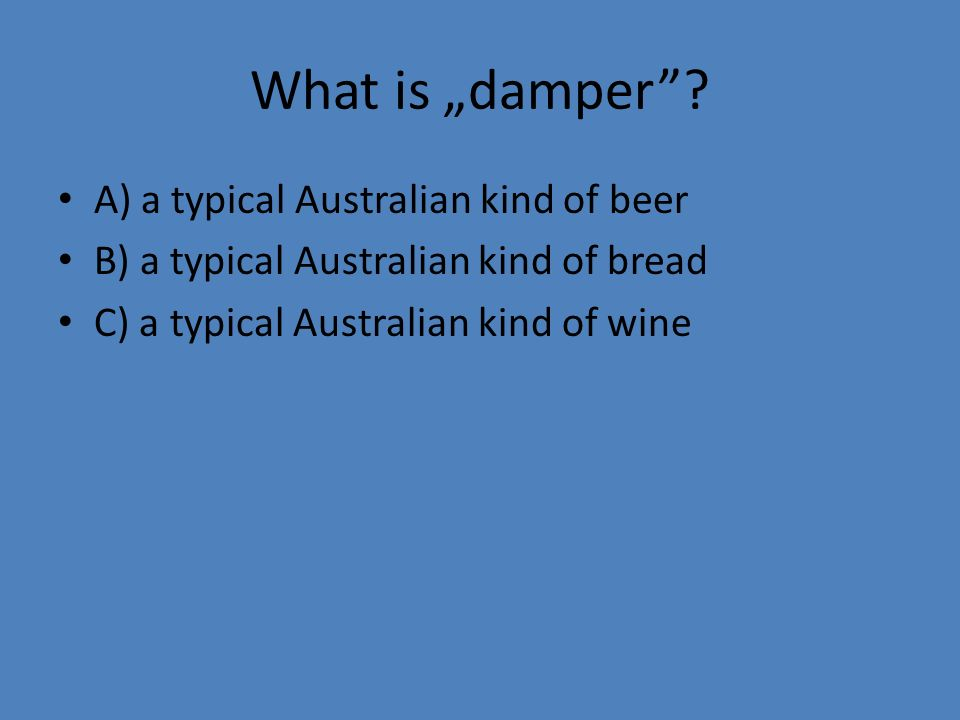 "What is ""damper ."