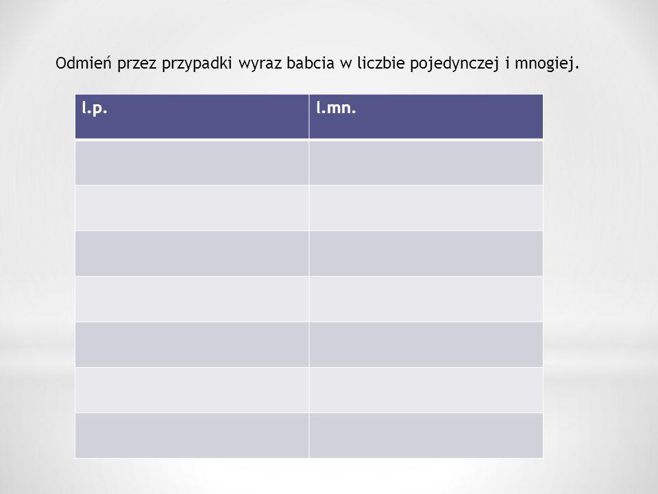 W podanym tekście podkreśl czasowniki, a następnie przepisz je i określ ich formy gramatyczne ( osobę, liczbę, rodzaj, czas) Z rana najczęściej nie mamy dobrego humoru.