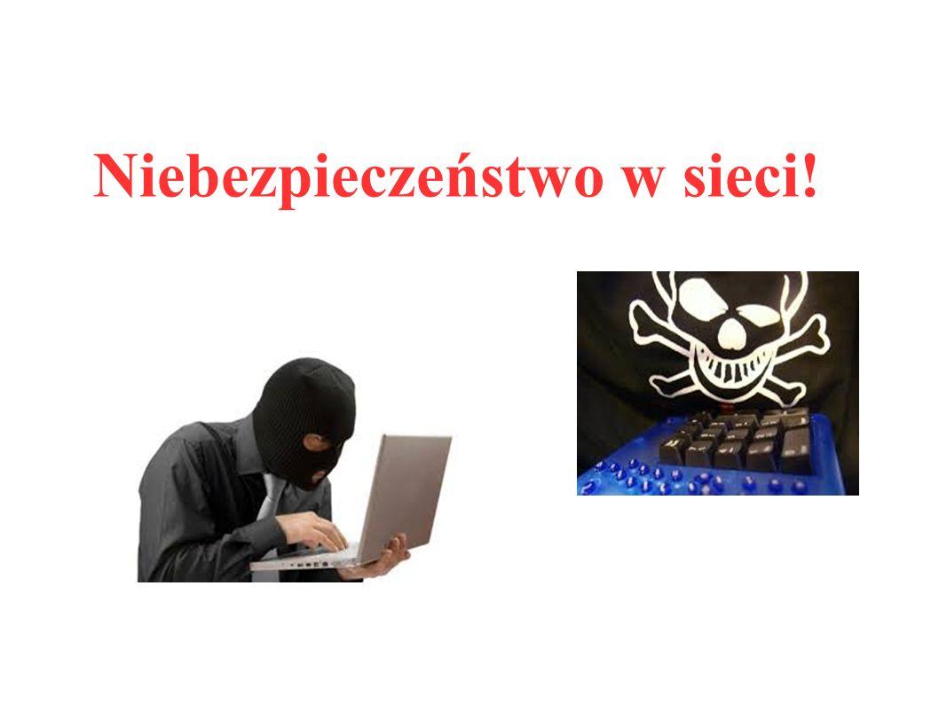 Niebezpieczeństwo w sieci!