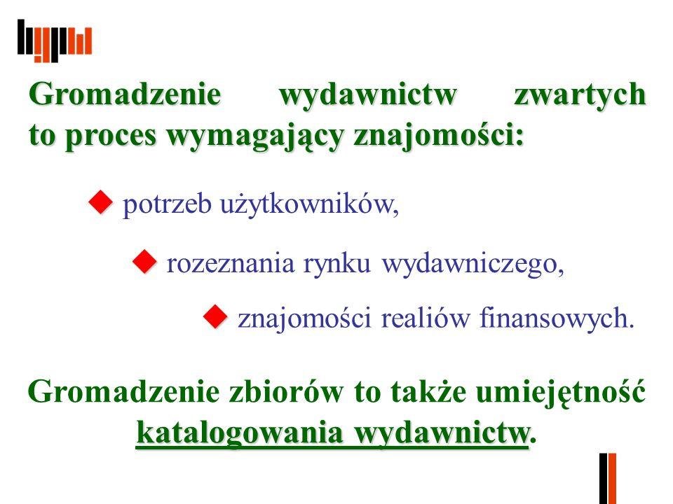 MARC21 Przegląd propozycji opisów MARC21 Rys.5.