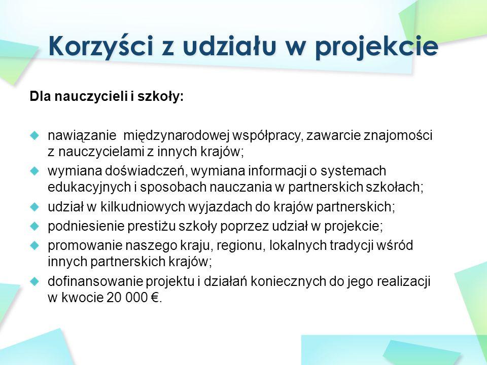 Integralną częścią projektu są wizyty w partnerskich placówkach finansowane z funduszu Unii Europejskiej.