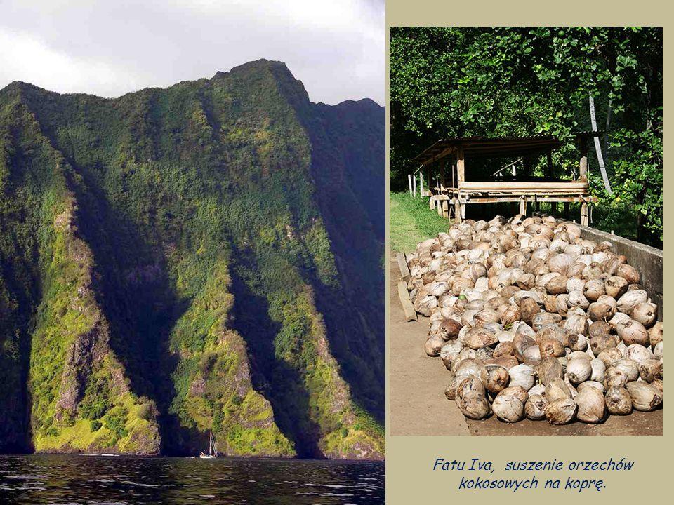 Fatu Iva,Fatu Hiva (dawniej hisz. Isla Magdalena) z główną miejscwością - Hanavave.