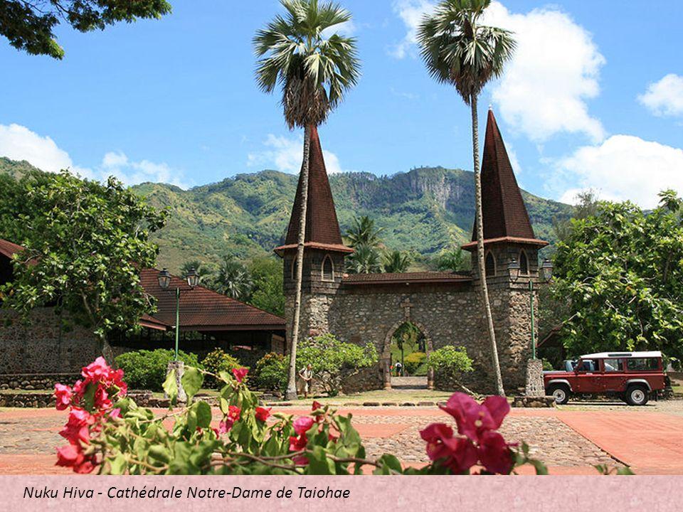 Fatu Iva, kościół katolicki we wsi Omoa