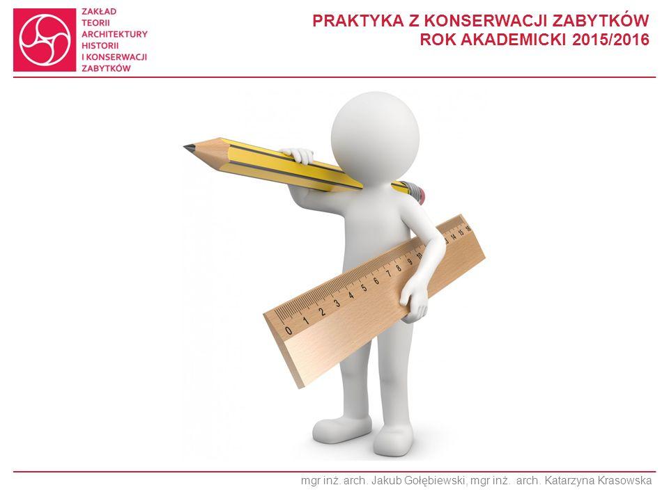 mgr inż.arch. Jakub Gołębiewski, mgr inż. arch.