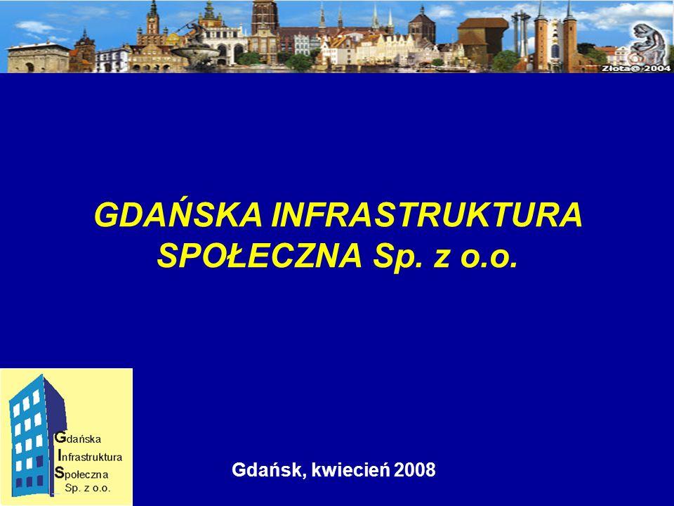 Gdańsk, kwiecień 2008 GDAŃSKA INFRASTRUKTURA SPOŁECZNA Sp. z o.o.