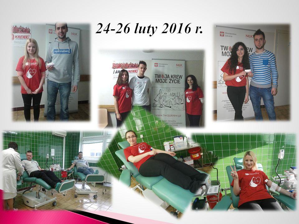 W dniach od 8 do 10 czerwca 2016 r.w Punkcie Krwiodawstwa w Wojewódzkim Szpitalu Podkarpackim im.