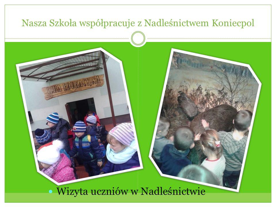 Nasza Szkoła współpracuje z Nadleśnictwem Koniecpol Wizyta uczniów w Nadleśnictwie