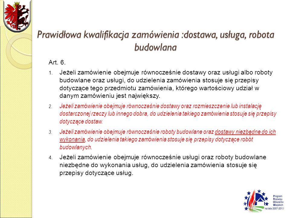 Terminy składania ofert Art.43. 1.