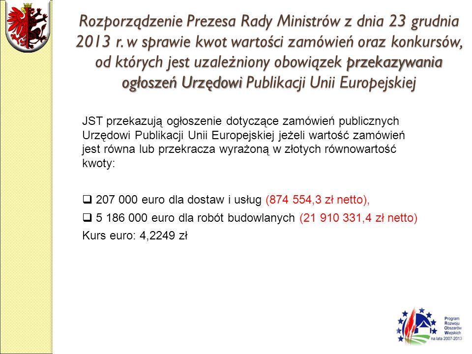 Rozporządzenie Prezesa Rady Ministrów z dnia 3 grudnia 2012 r.