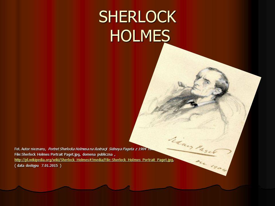 SHERLOCK HOLMES Fot.