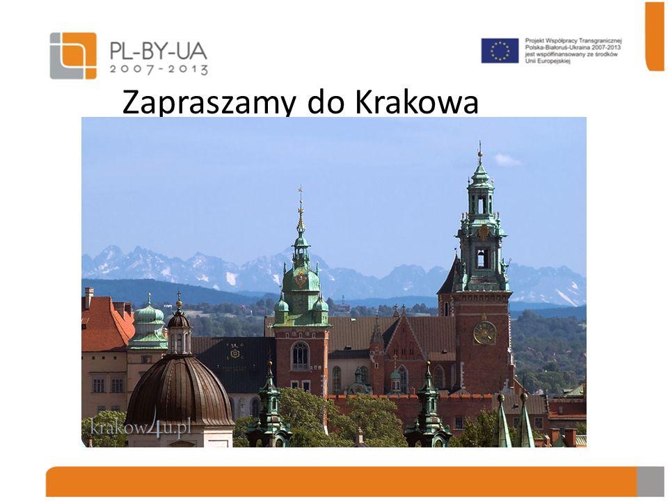Zapraszamy do Krakowa