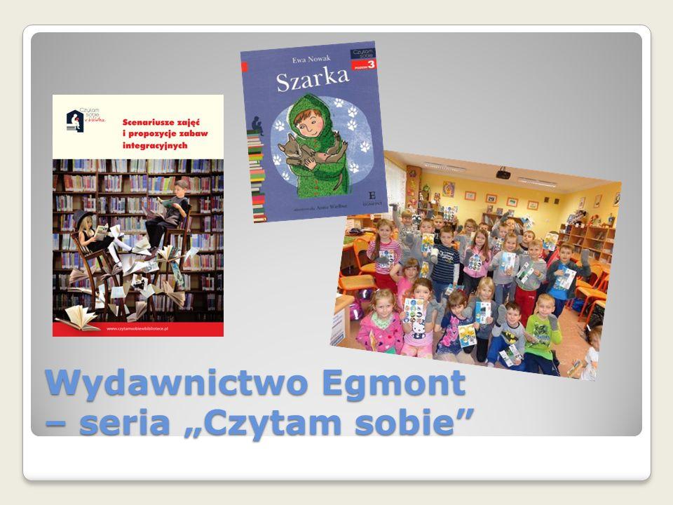 """Wydawnictwo Egmont – seria """"Czytam sobie"""