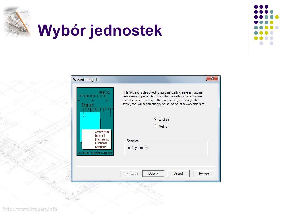 Wybór jednostek http://www.krupers.info
