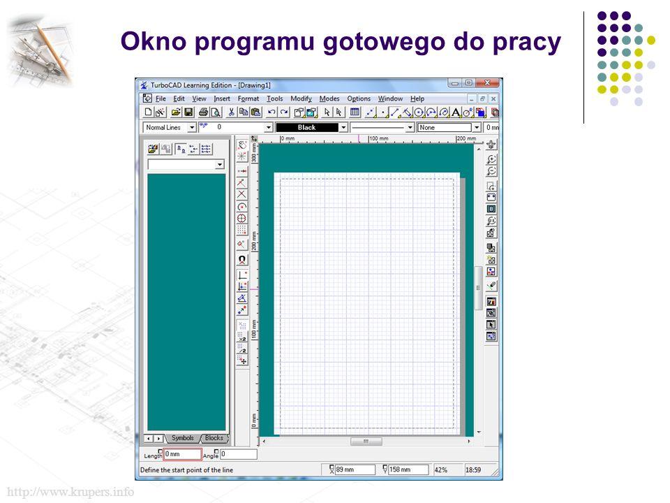 Okno programu gotowego do pracy http://www.krupers.info