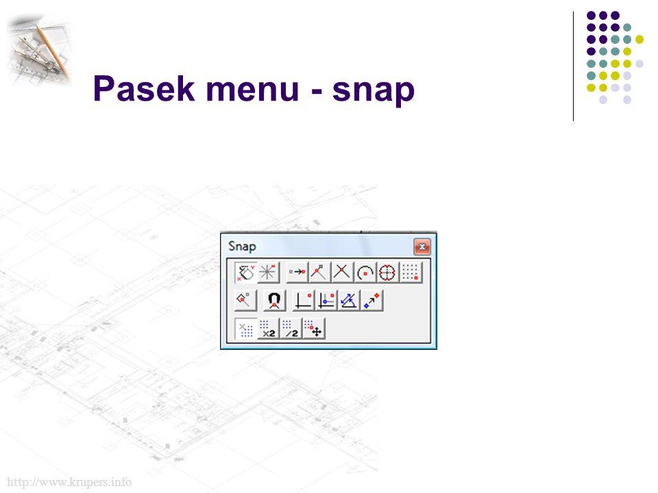 Pasek menu - snap http://www.krupers.info