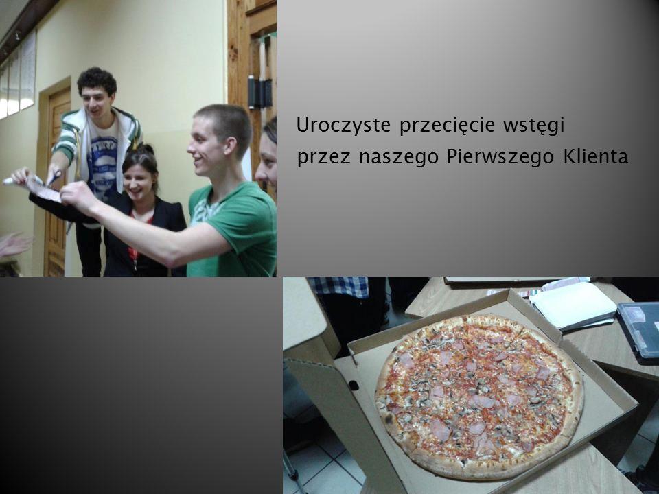 Co. Nasze miniprzedsiębiorstwo zajmuje się sprzedażą pizzy na przerwach w szkole.