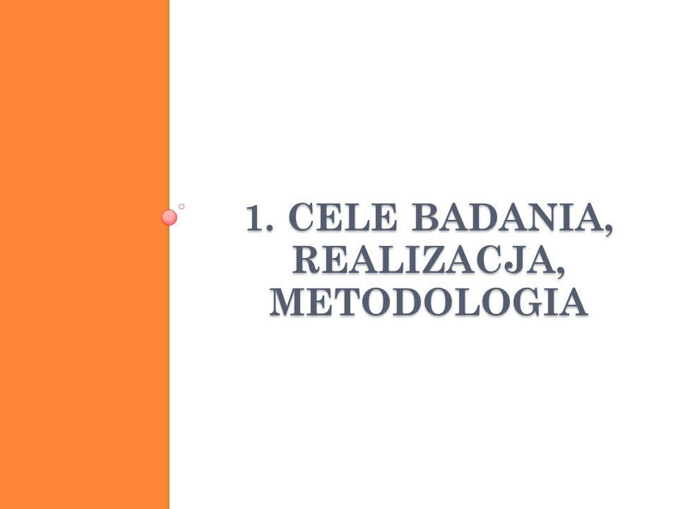 1. CELE BADANIA, REALIZACJA, METODOLOGIA Funkcjonowanie rodzin