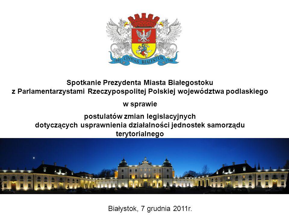 Propozycje zmian dotyczące zamówień publicznych Zespół Zamówień Publicznych Jolanta Aleksandrowicz Kierownik Zespołu Zamówień Publicznych