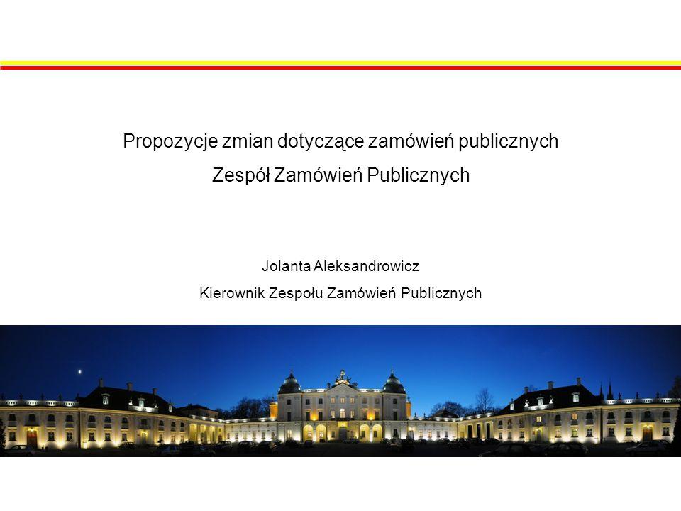 Proponowane zmiany w zakresie kultury i ochrony zabytków Ustawa z dnia 23 lipca 2003 r.