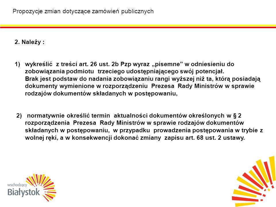Proponowane zmiany w zakresie kultury i ochrony zabytków Ustawa z dnia 27 marca 2003 r.