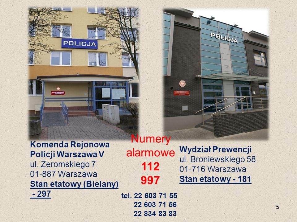 Komenda Rejonowa Policji Warszawa V ul.