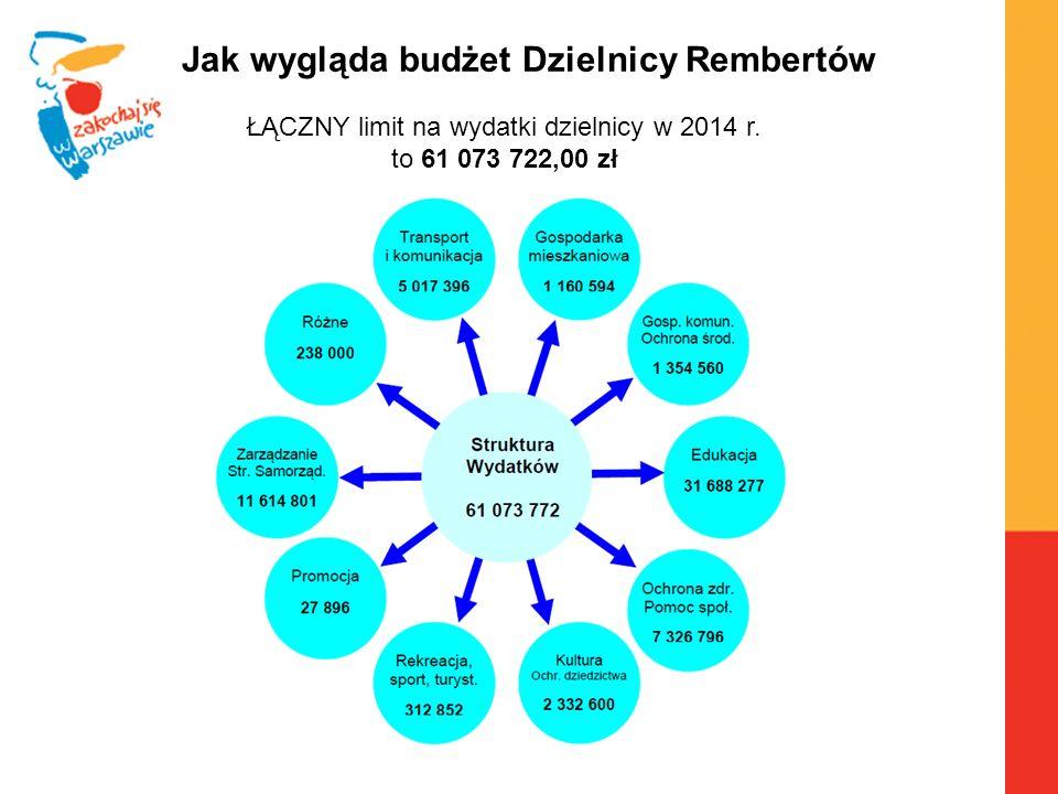 Warszawa, 6.04.2010 r.Budżet Partycypacyjny w Dzielnicy Rembertów DZIELNICOWY ZESPÓŁ DS.