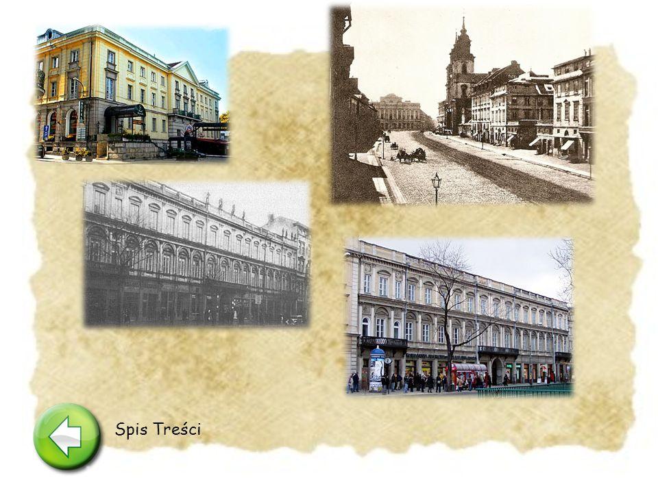 Krakowskie Przedmieście 4 Tutaj mia ł o by ś zlokalizowane du ż e i eleganckie mieszkanie Wokulskiego.