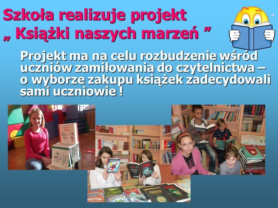 """Szkoła realizuje projekt """" Moja wymarzona ekopracownia"""" """" EkoMocni – naładowani zieloną energią"""""""