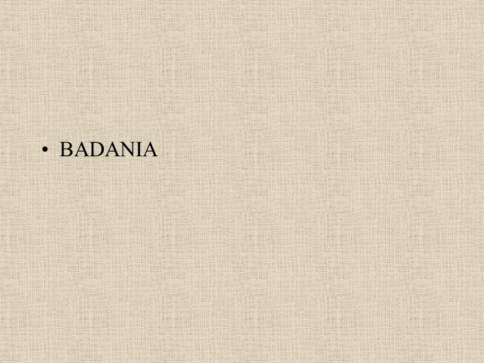 BADANIA