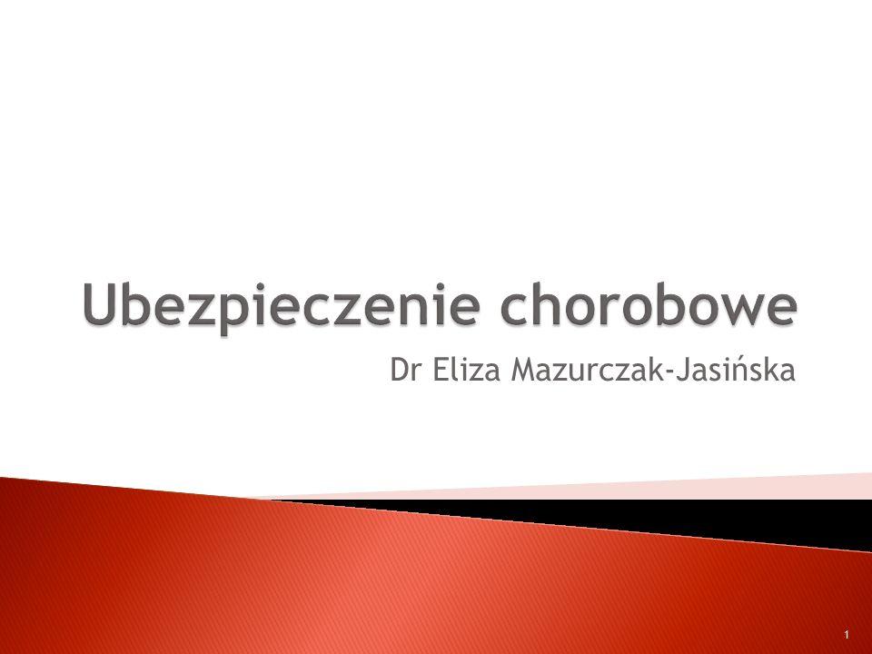 Dr Eliza Mazurczak-Jasińska 1