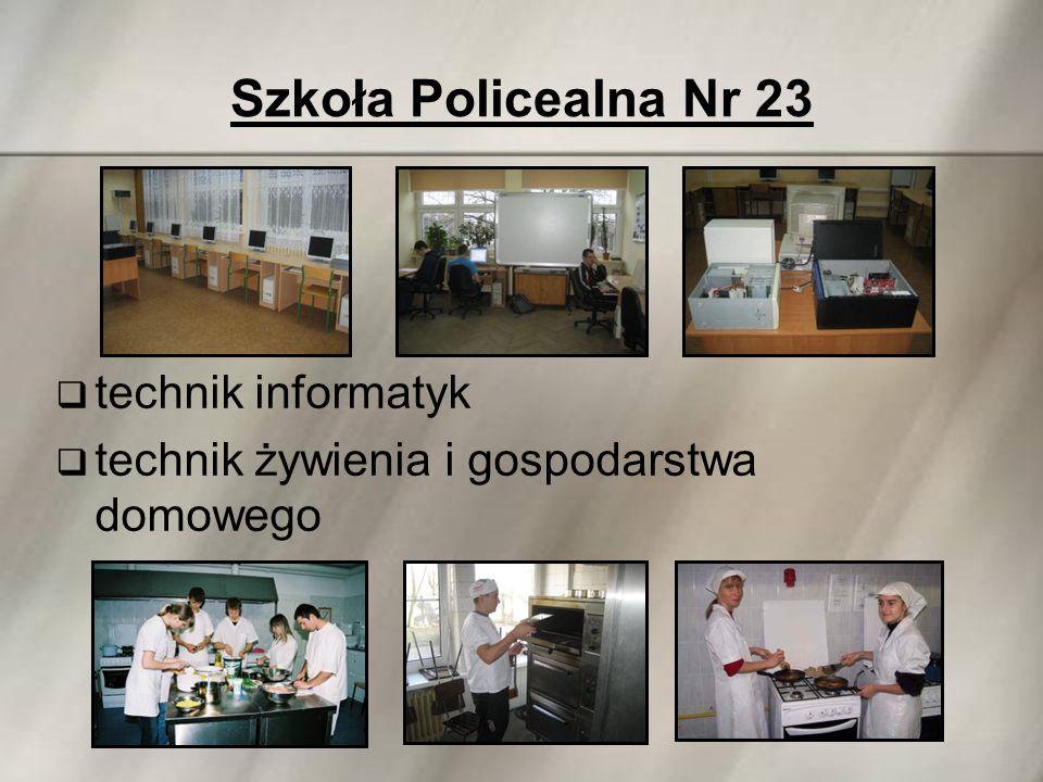 Szkoła Policealna Nr 23  technik informatyk  technik żywienia i gospodarstwa domowego