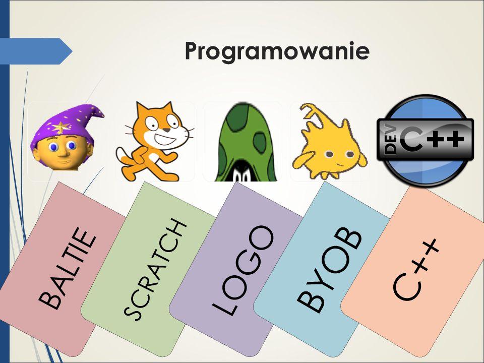 Programowanie BALTIE SCRATCH LOGO BYOB C++