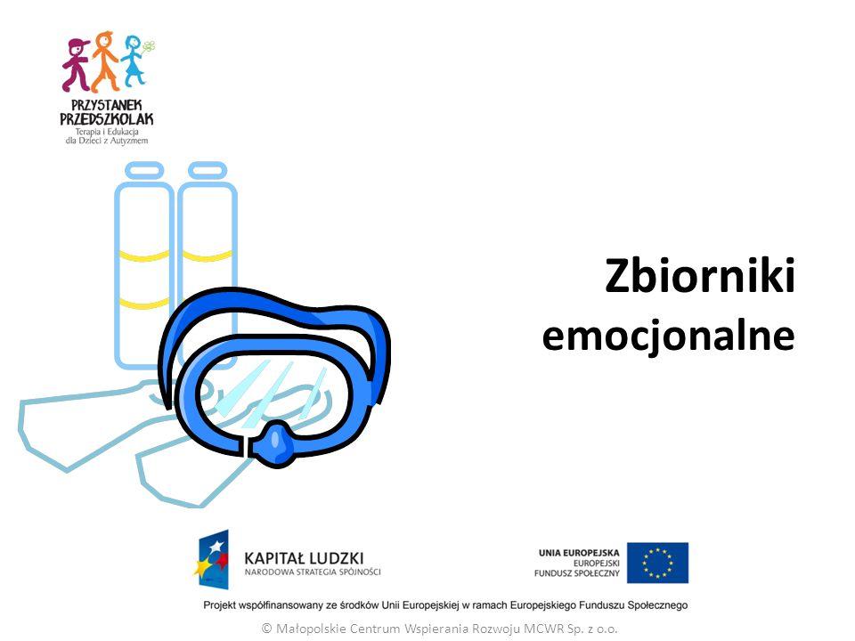© Małopolskie Centrum Wspierania Rozwoju MCWR Sp. z o.o. Zbiorniki emocjonalne