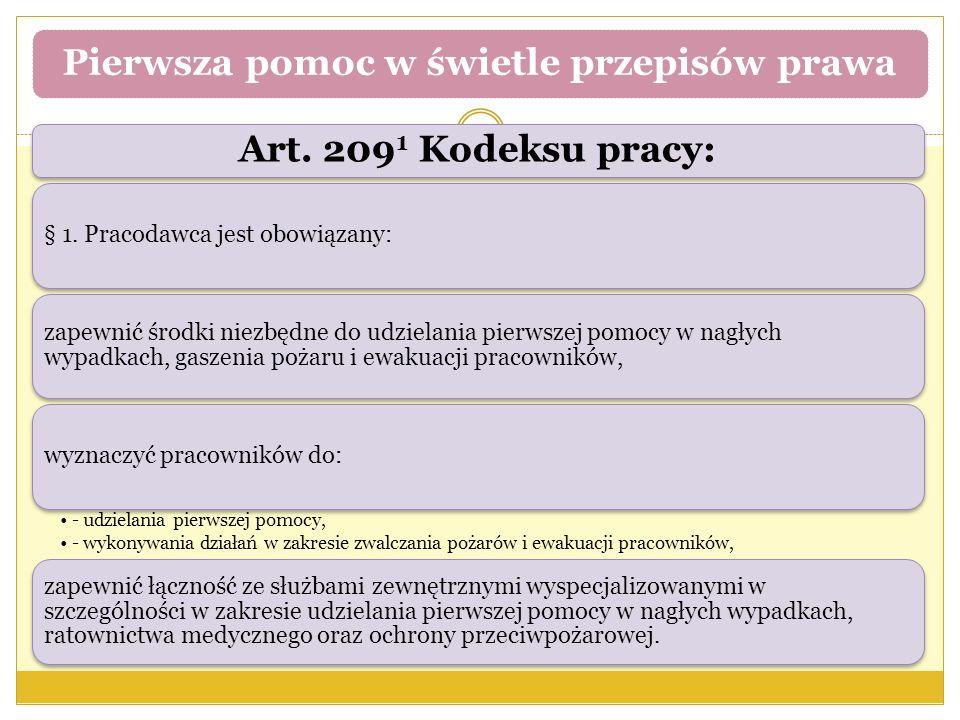 Art. 209 1 Kodeksu pracy: § 1.