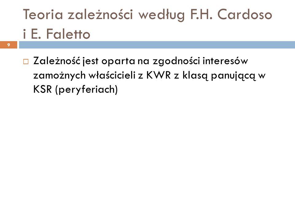 Teoria zależności według F.H. Cardoso i E.