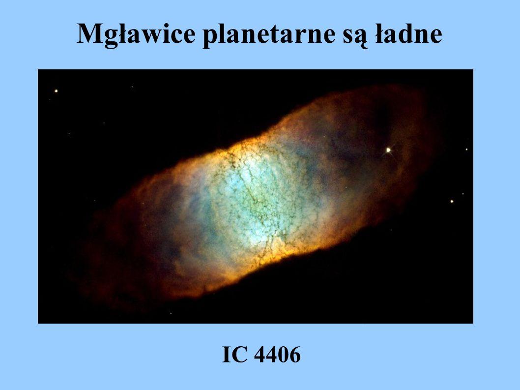 Mgławice planetarne są ładne IC 4406