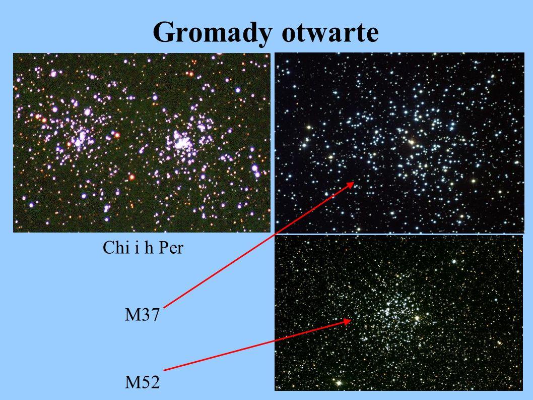Gromady otwarte Chi i h Per M37 M52