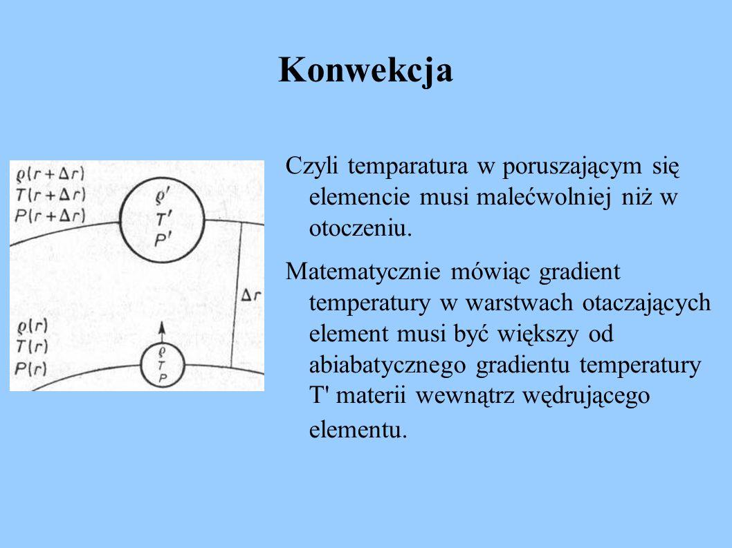 Czyli temparatura w poruszającym się elemencie musi malećwolniej niż w otoczeniu. Matematycznie mówiąc gradient temperatury w warstwach otaczających e