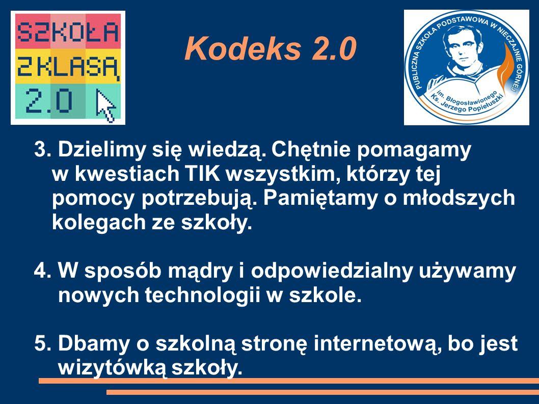 Kodeks 2.0 3. Dzielimy się wiedzą.