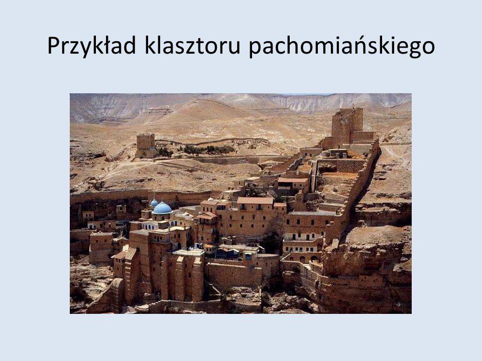 Przykład klasztoru pachomiańskiego