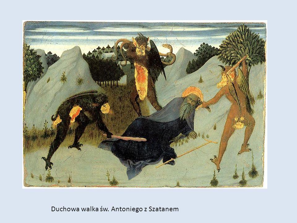 Duchowa walka św. Antoniego z Szatanem