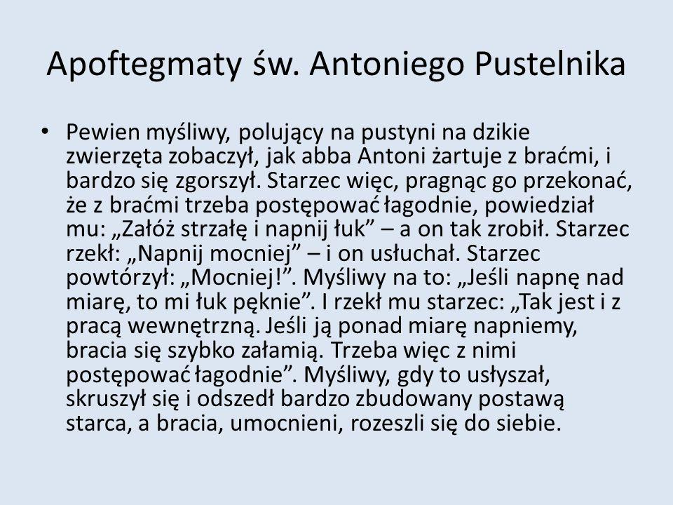 Apoftegmaty św.